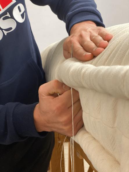 Réfection matelas de laine